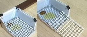 フェレット トイレ 網